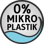 Siegel 0% Mikroplastik der Firma Schaebens